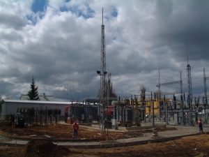 Airport 110/10 kV substation reconstruction, Vilnius