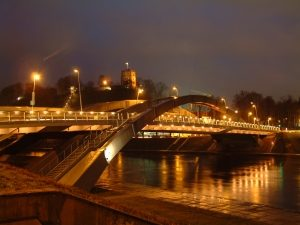 Mindaugo tilto apšvietimas, Vilniaus m.